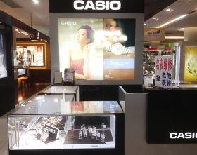 卡西欧腕表店展示柜定制