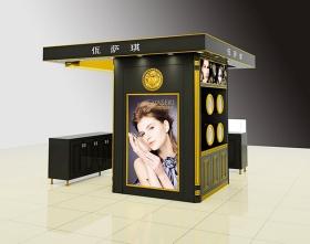 化妆用品展示柜定制