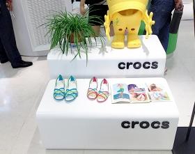 CROCS展示道具